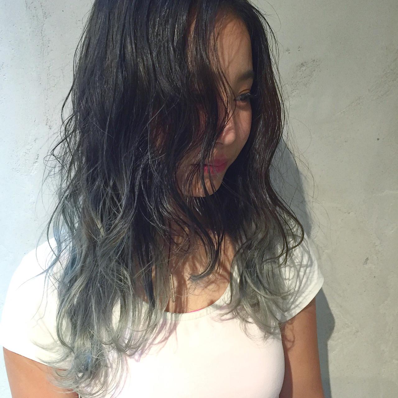【ロング編】秋冬はこの色で決まり♡アッシュで作る暗髪が可愛すぎる NAO