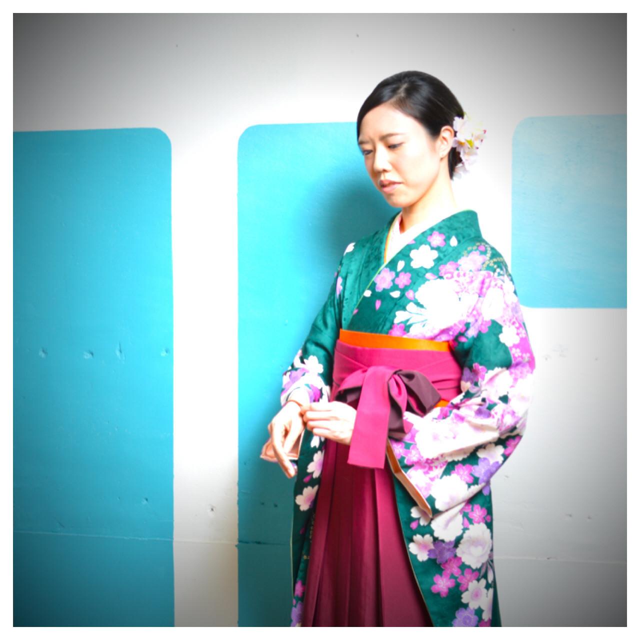 ミディアム パーティ アップスタイル 謝恩会 ヘアスタイルや髪型の写真・画像 | 阪田充章 / MITU