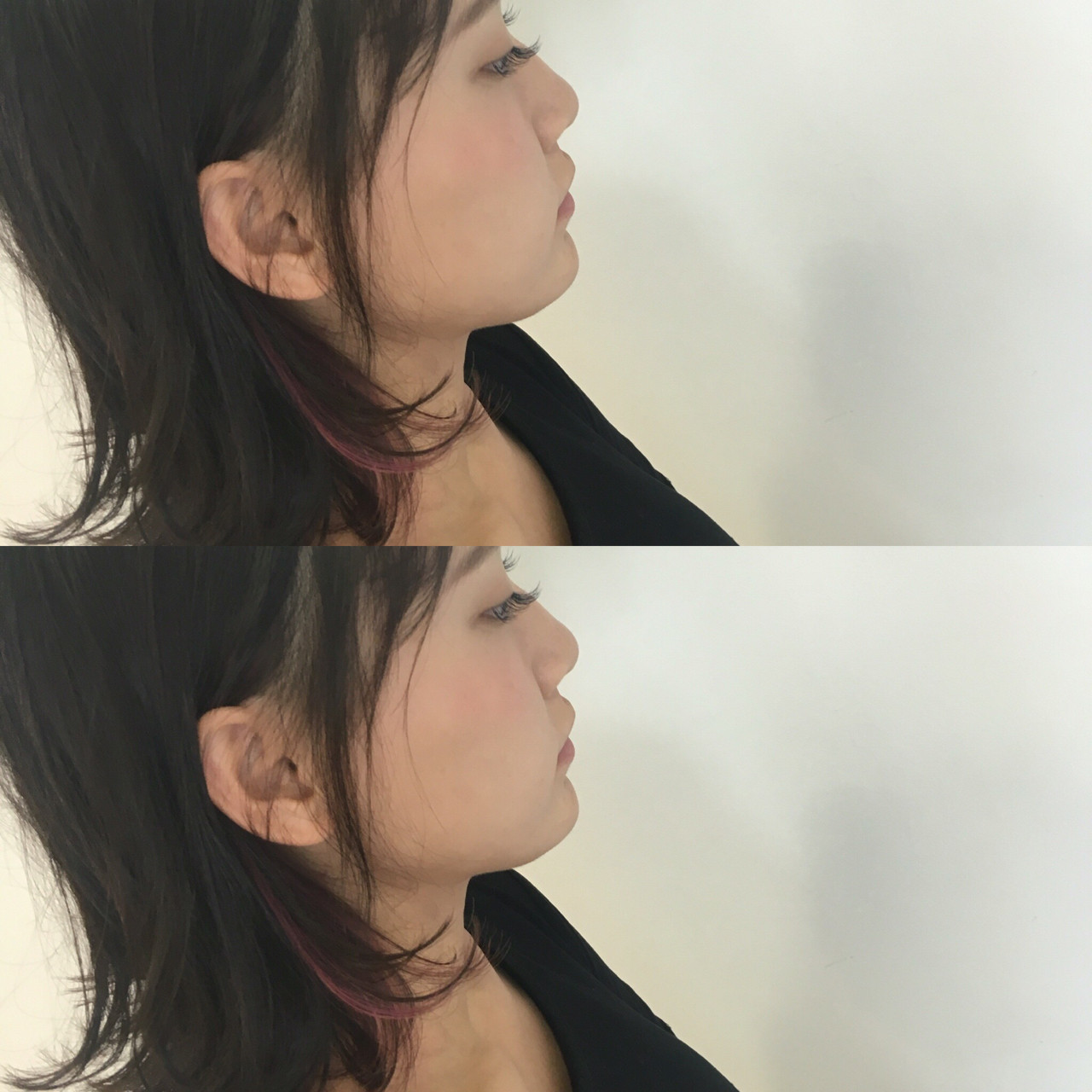ショート 前髪あり 簡単ヘアアレンジ ハイライト ヘアスタイルや髪型の写真・画像 | 斉藤雪乃 / CAPA秦野
