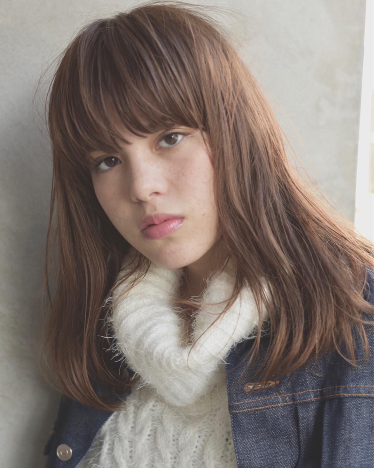 ミディアム 冬 ストリート パーマ ヘアスタイルや髪型の写真・画像 | 小島翔一郎 / depart表参道