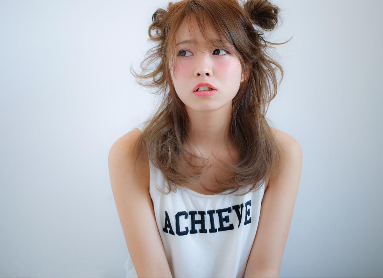 ピュア ミディアム フェミニン ヘアアレンジ ヘアスタイルや髪型の写真・画像   小笠原 淳 / hair make No.8(ヘアメイクエイト)
