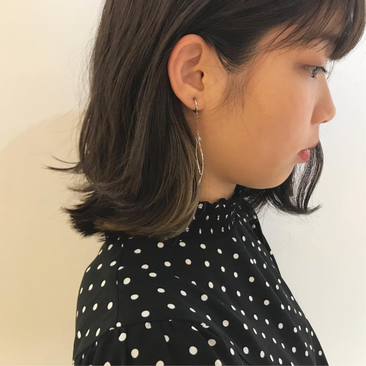 アンニュイほつれヘア ボブ ブリーチカラー 透明感カラー ヘアスタイルや髪型の写真・画像   倉林 洋美 / GOOD DAY HAIR