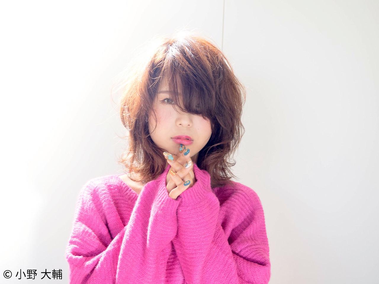 ショート パーマ ナチュラル アッシュ ヘアスタイルや髪型の写真・画像 | 小野 大輔 / OHIA  for plumeria