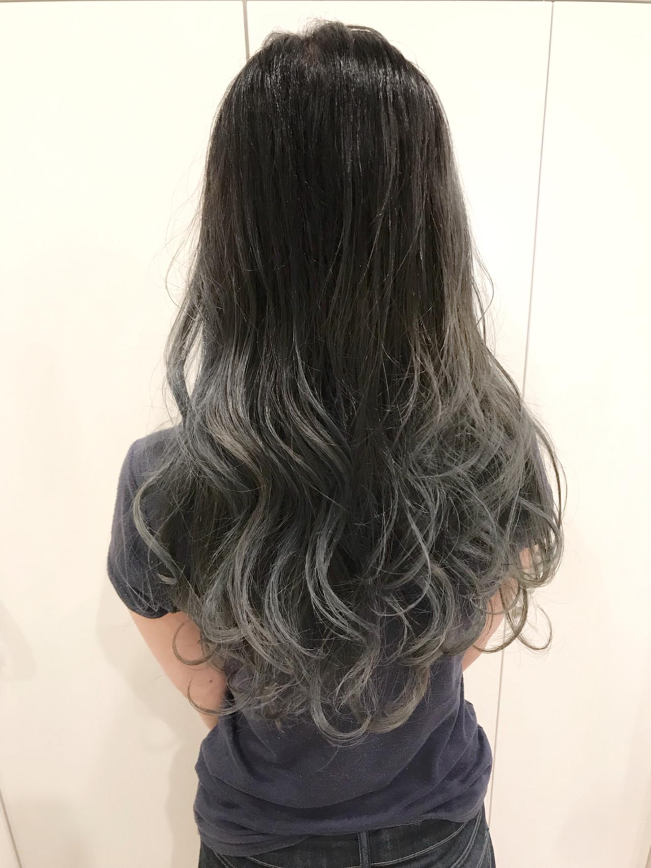 外国人風 エフォートレス 外国人風カラー ハイライト ヘアスタイルや髪型の写真・画像 | 長谷川 龍太 / hair design tea