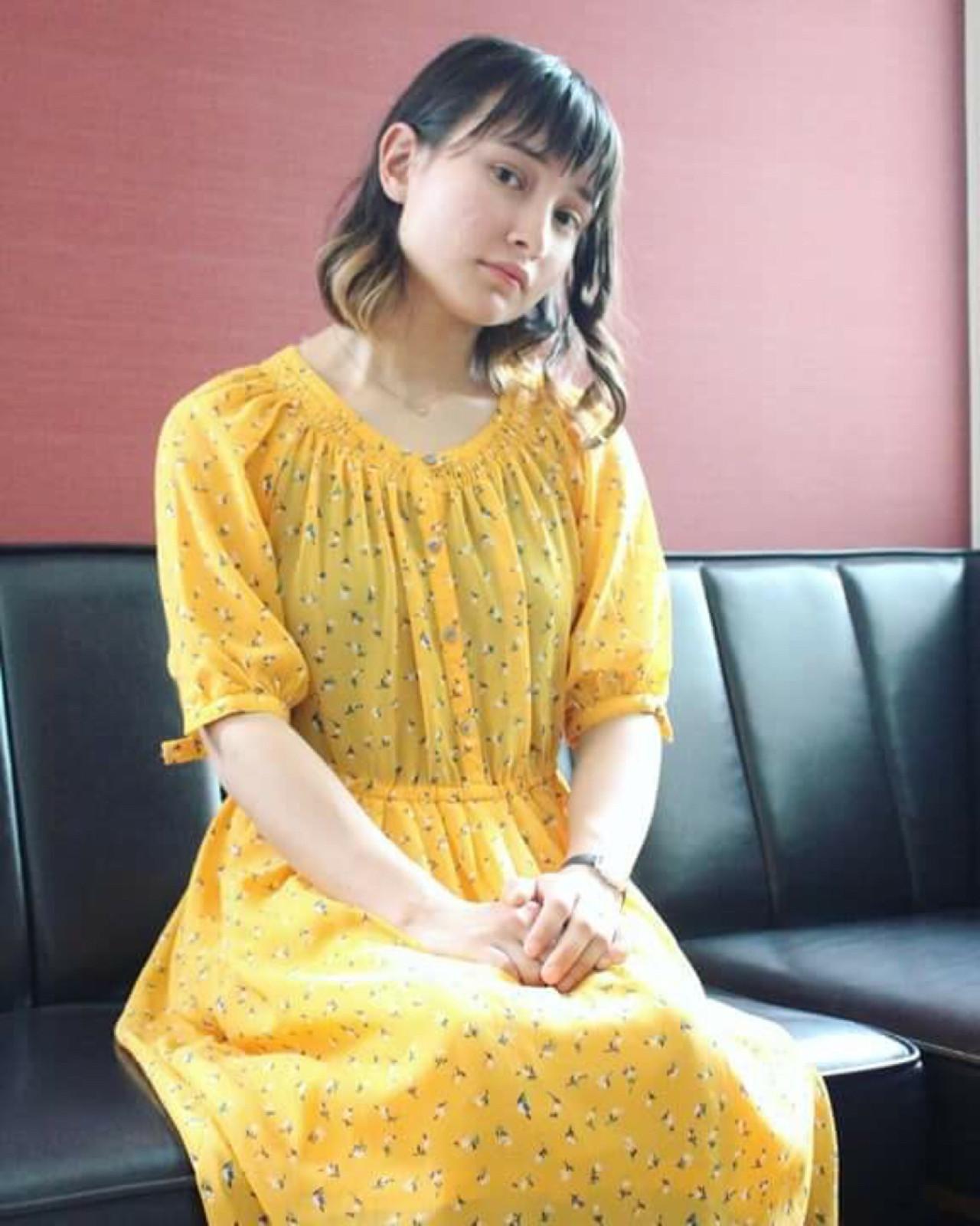 グラデーションカラー 夏 ヘアアレンジ ボブ ヘアスタイルや髪型の写真・画像 | Ryo isijima / atelier lurtta