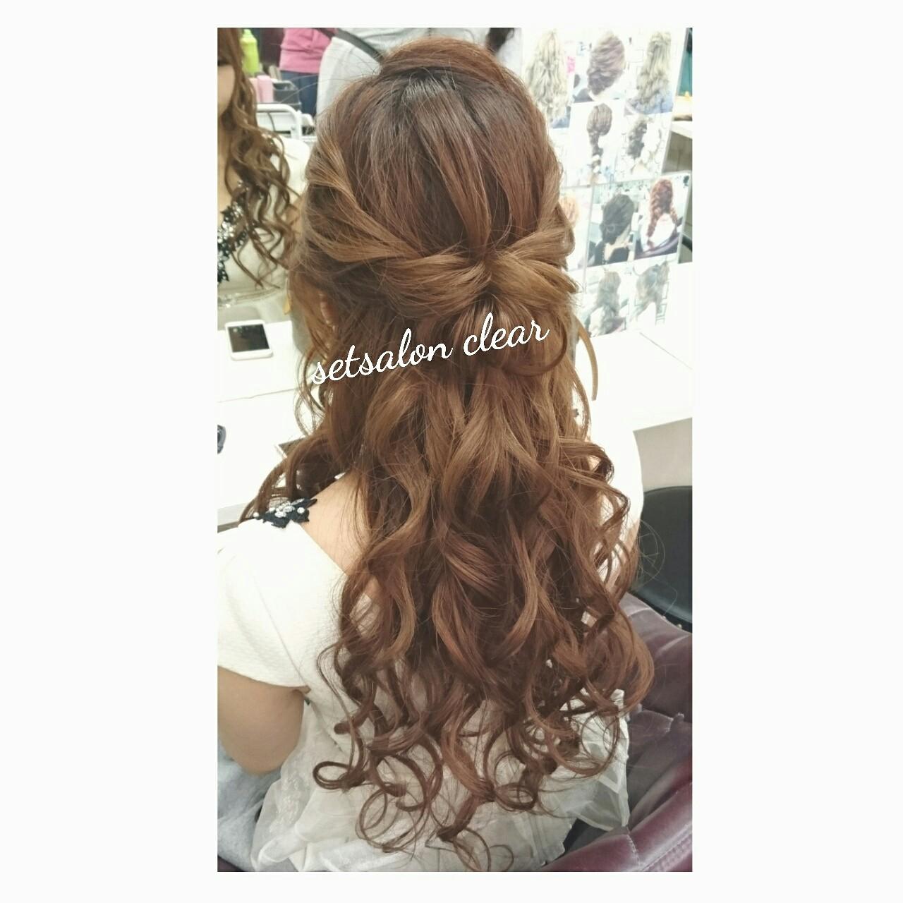 ショート ゆるふわ 簡単ヘアアレンジ ヘアアレンジ ヘアスタイルや髪型の写真・画像 | chisa* / CURE