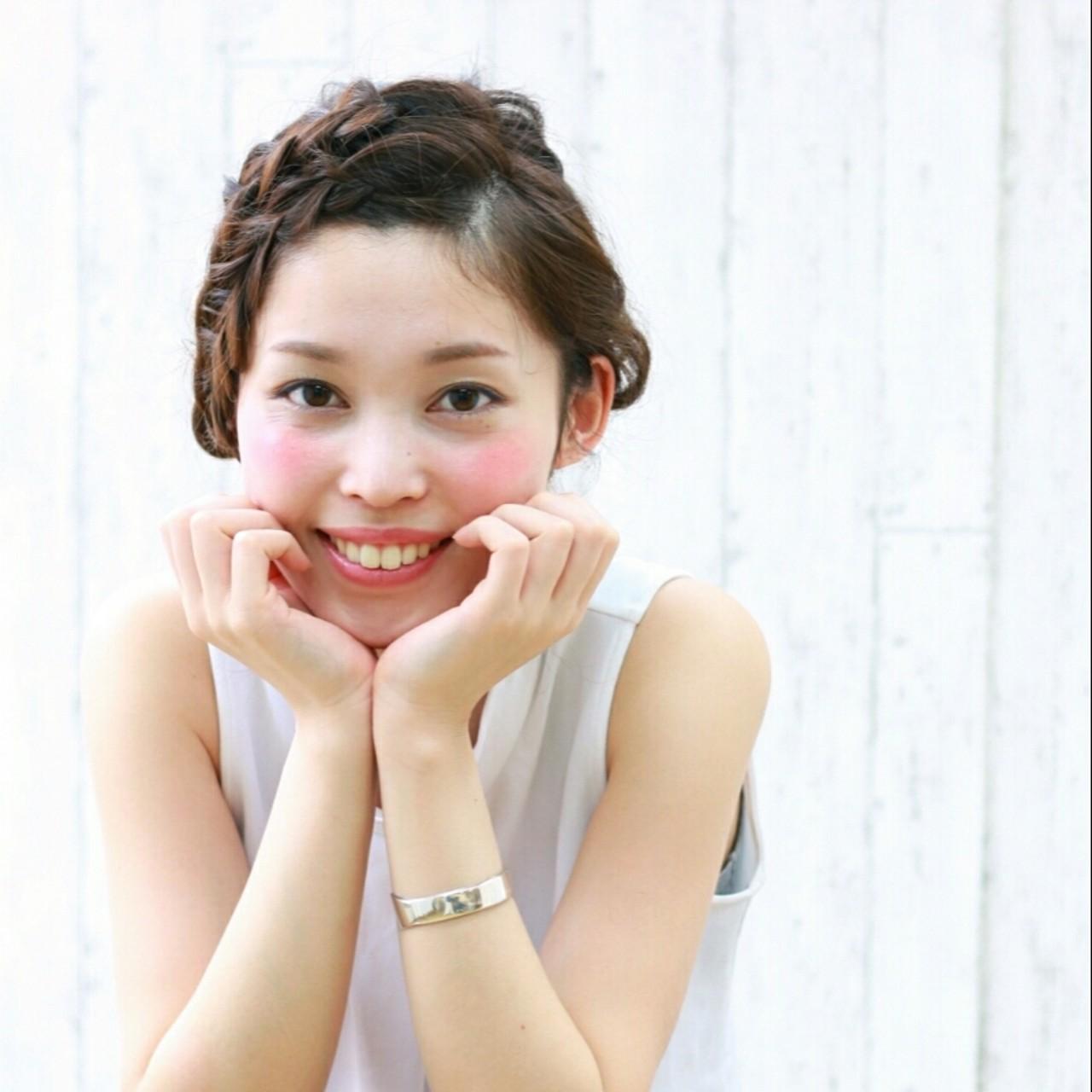 アッシュ ヘアアレンジ 夏 ミディアム ヘアスタイルや髪型の写真・画像 | 前田えみ/BLOOM /  BLOOM(ブルーム)