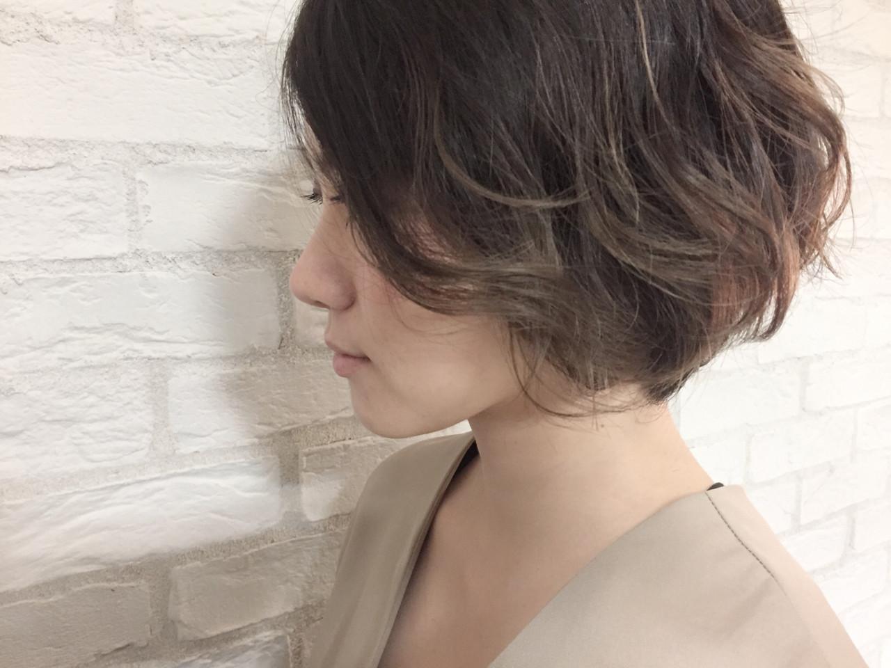 【ショートヘア向け】短くてもピッタリはまる!デジタルパーマスタイル 吉田香澄