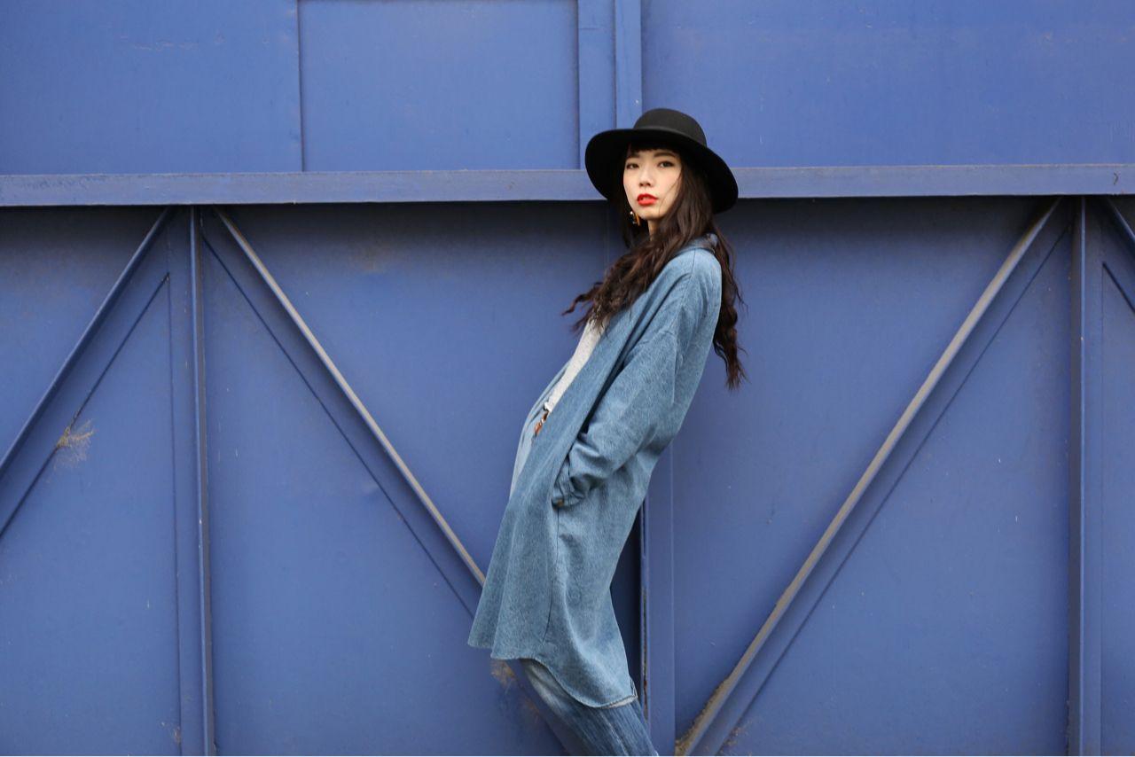 センターパート ロング ストリート パンク ヘアスタイルや髪型の写真・画像 | 加納 寛之【LOJE】 / 【LOJE】