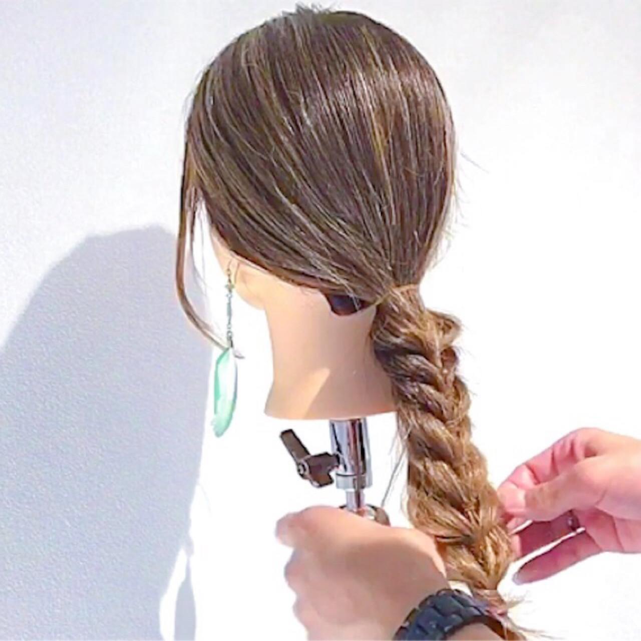 簡単ヘアアレンジ ロング フェミニン 女子会 ヘアスタイルや髪型の写真・画像 | 美容師HIRO/Amoute代表 / Amoute/アムティ