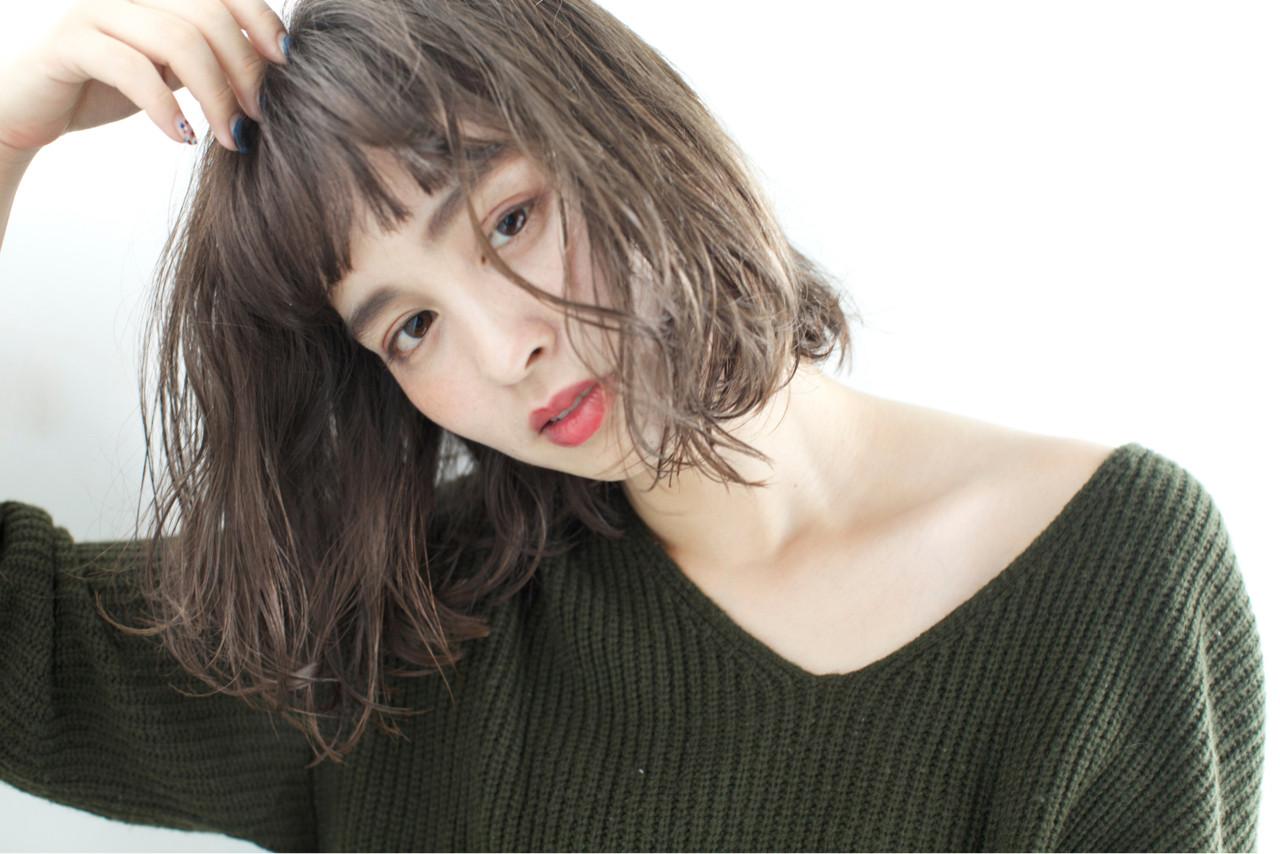 ゆるふわ 外国人風 冬 外国人風カラー ヘアスタイルや髪型の写真・画像 | 佐脇 正徳 / LOAVE AOYAMA(ローヴ アオヤマ)