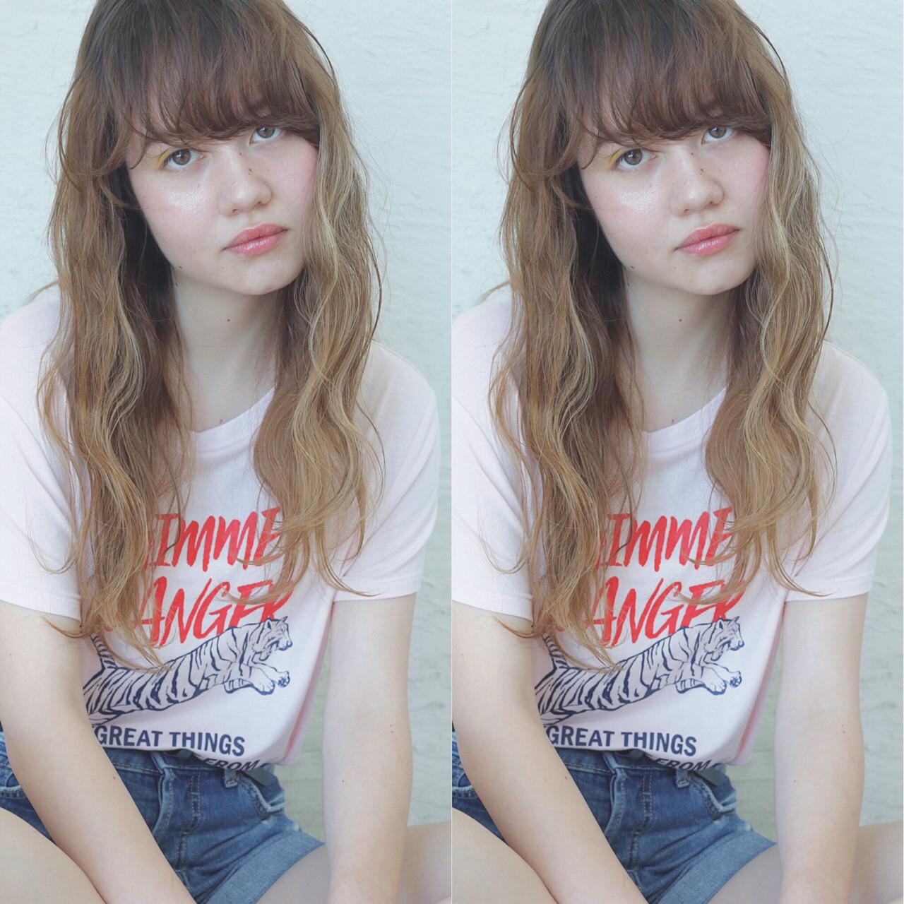 アッシュ アンニュイ ハイライト ストリート ヘアスタイルや髪型の写真・画像 | 原田直美 / grico