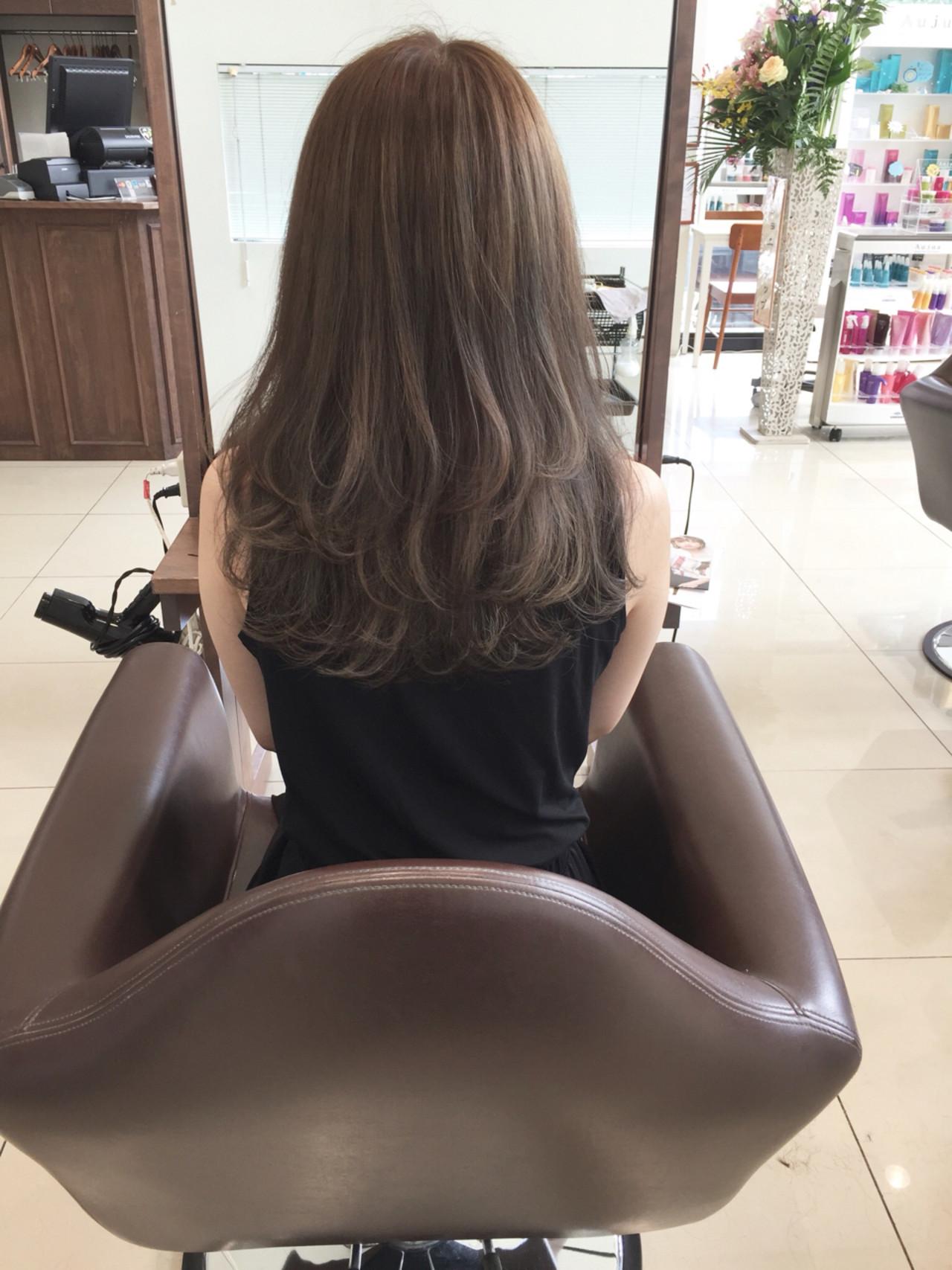 上品 こなれ感 エレガント ハイライト ヘアスタイルや髪型の写真・画像 | 岡嶋 翔子 / Tiara