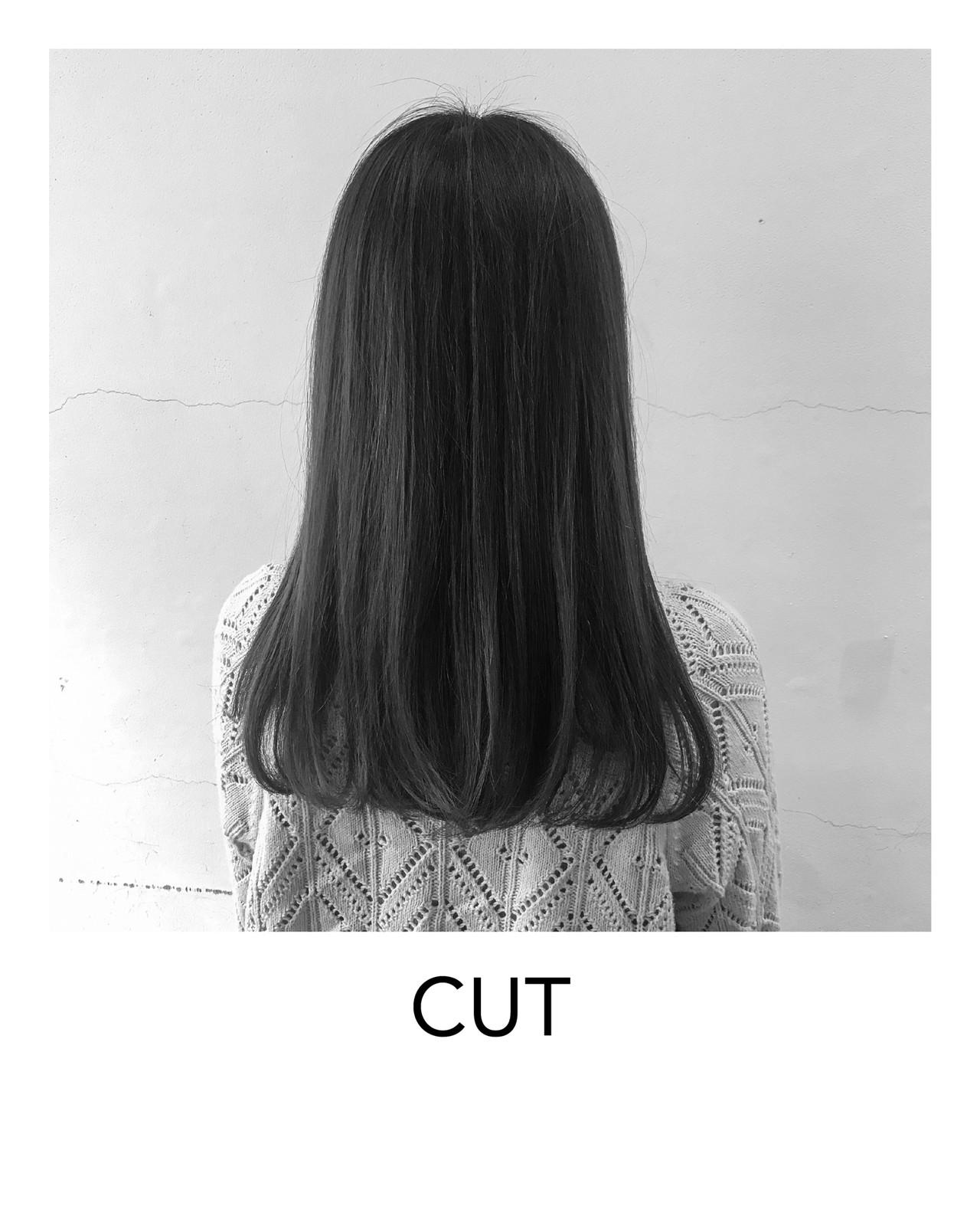 暗髪女子 ナチュラル 外国人風 外国人風カラー ヘアスタイルや髪型の写真・画像 | ISSEI_TAKASHIMA / OREO.coco