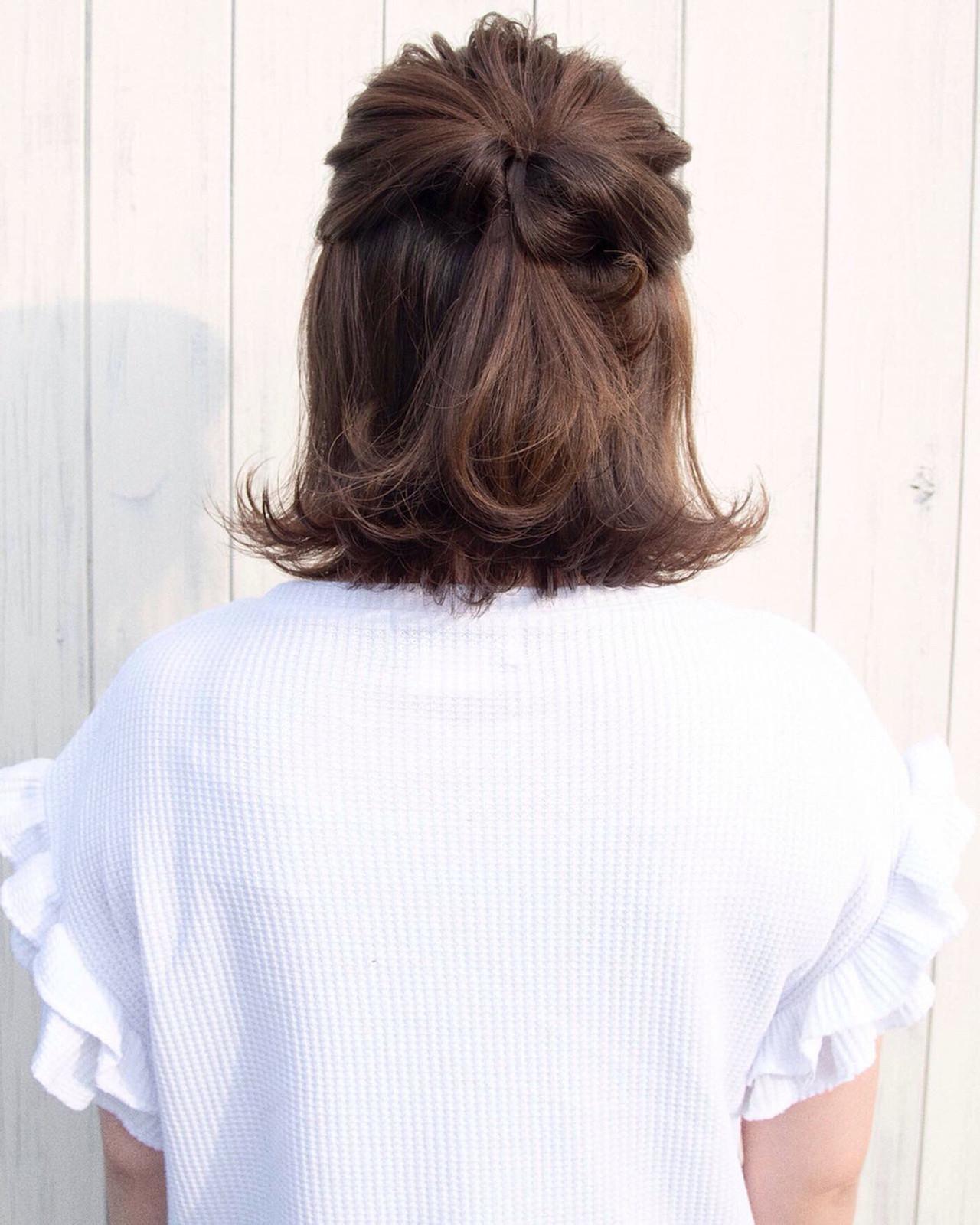 結婚式 ストリート ヘアアレンジ ボブ ヘアスタイルや髪型の写真・画像 | ニシモリ ショウヘイ / 583koyomi