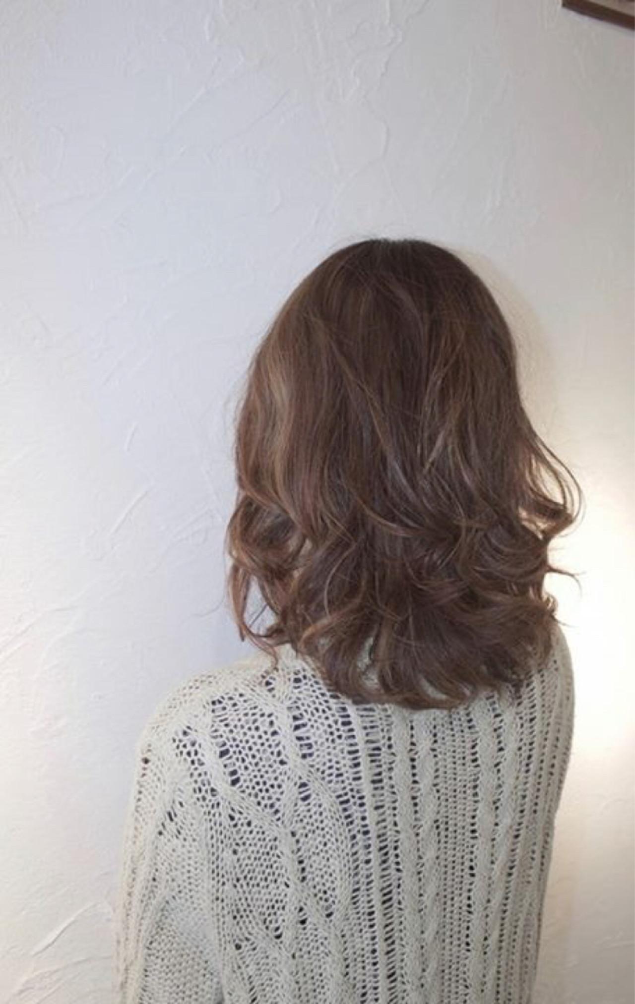 ウルフカット ボブ ミルクティー マッシュ ヘアスタイルや髪型の写真・画像 | 大西 つねお /  ELMO