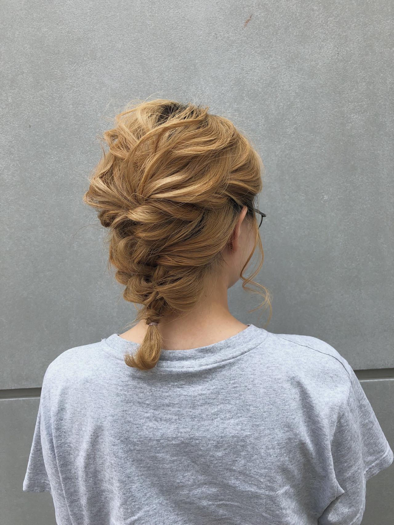 簡単ヘアアレンジ スポーツ ナチュラル アウトドア ヘアスタイルや髪型の写真・画像 | 北里和哉 / far beyond