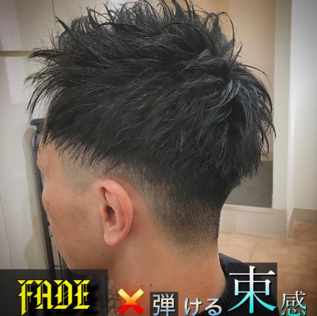 メンズ 束感 刈り上げ ツーブロック ヘアスタイルや髪型の写真・画像 | 平本 詠一 / fabris