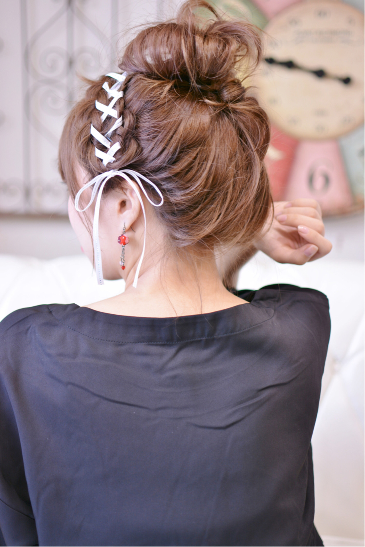 ラフ ガーリー デート ゆるふわ ヘアスタイルや髪型の写真・画像 | Shiko Kajihara / メイズ