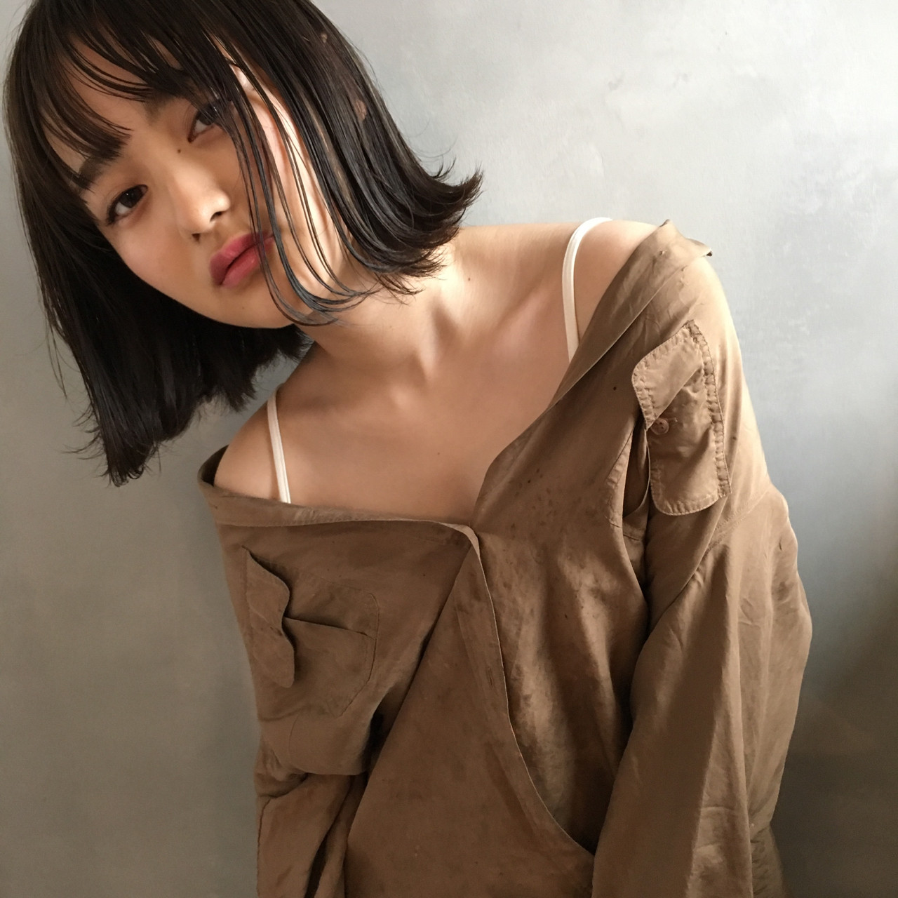 こなれ感 小顔 ナチュラル 色気 ヘアスタイルや髪型の写真・画像   日野 達也 / GO TODAY  SHAiRE SALON