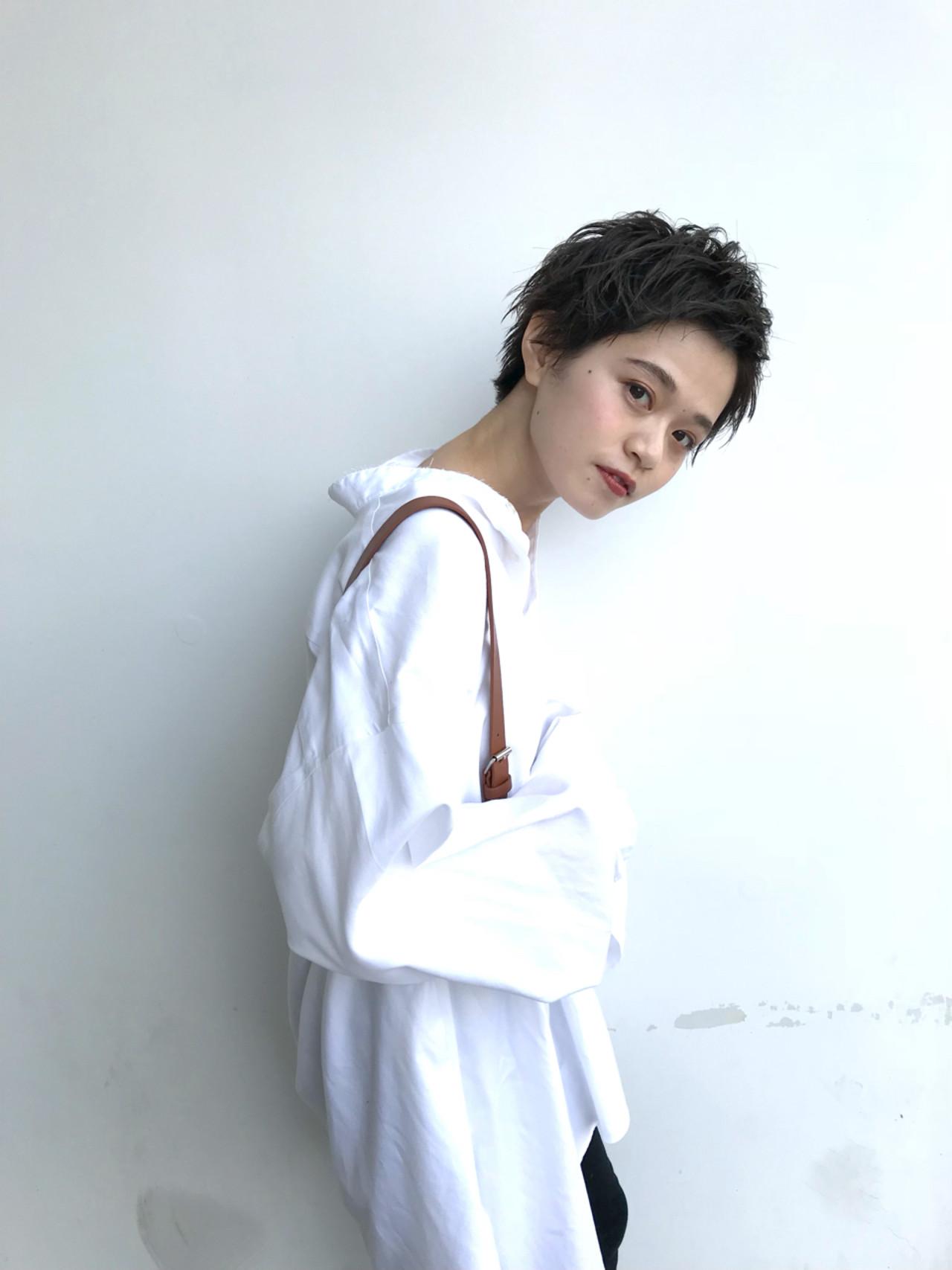 外ハネ 愛され 外国人風 ストリート ヘアスタイルや髪型の写真・画像 | 馬橋達佳 / log