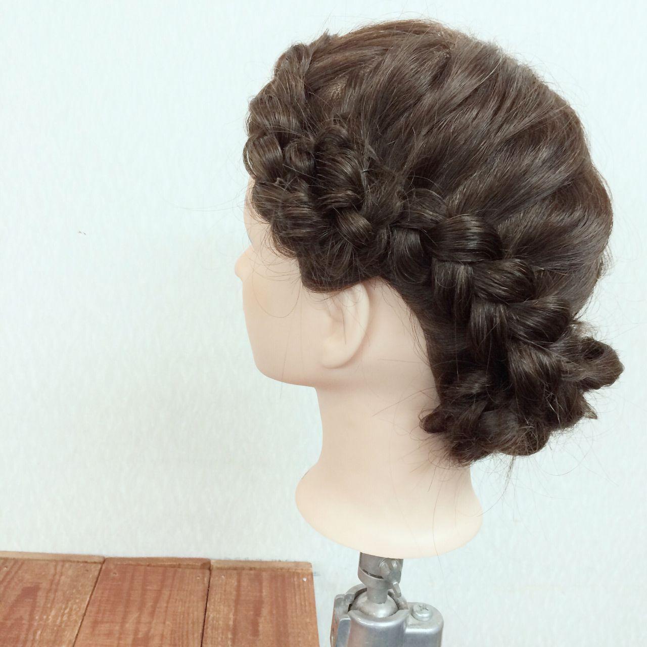 モテ髪 結婚式 コンサバ 愛され ヘアスタイルや髪型の写真・画像   ヤマナカサトル / DIOR of Hair