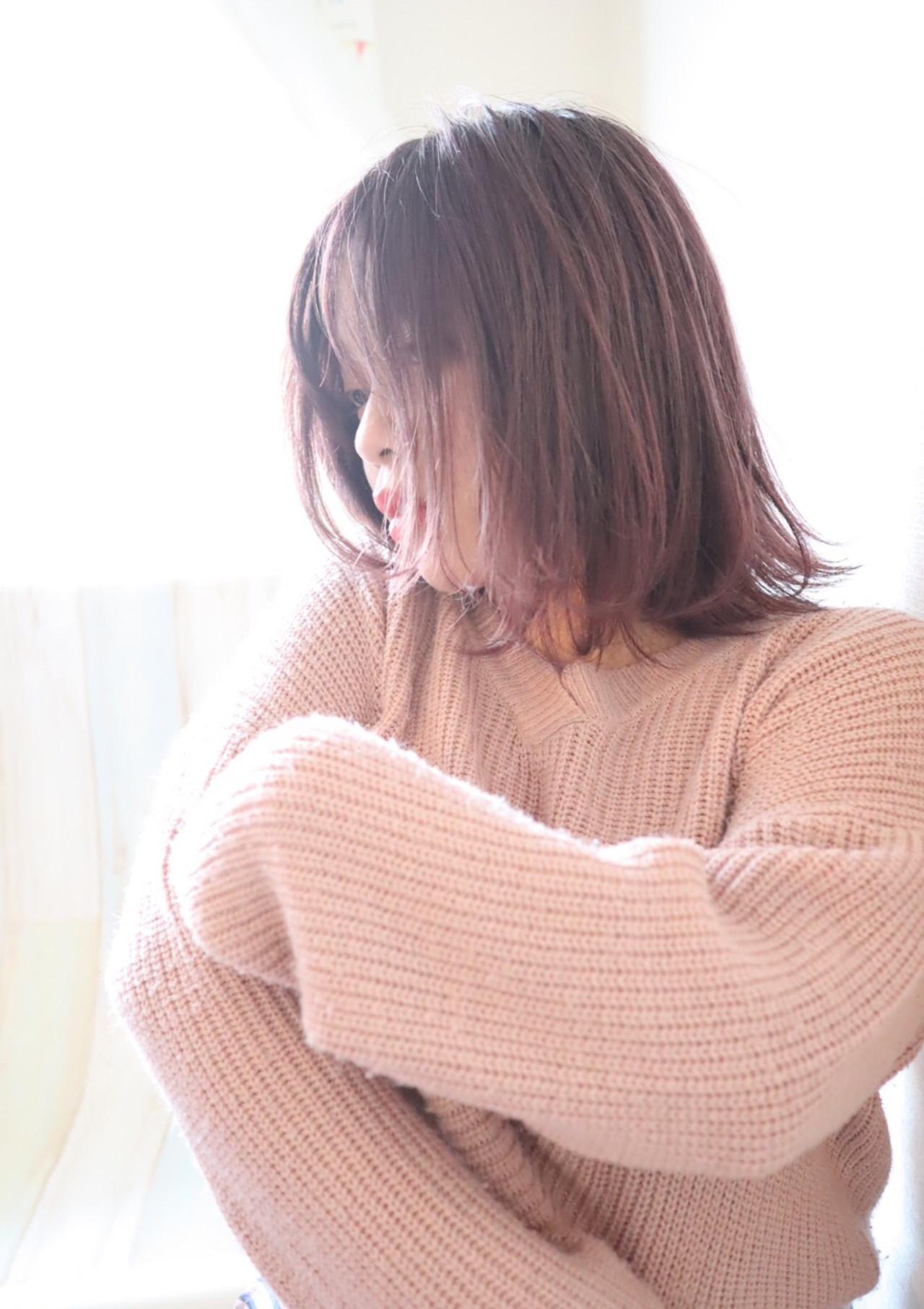 イルミナカラー グラデーションカラー フェミニン グラデーション ヘアスタイルや髪型の写真・画像 | tetsu / 全席半個室サロン Kona TNC 放送会館店
