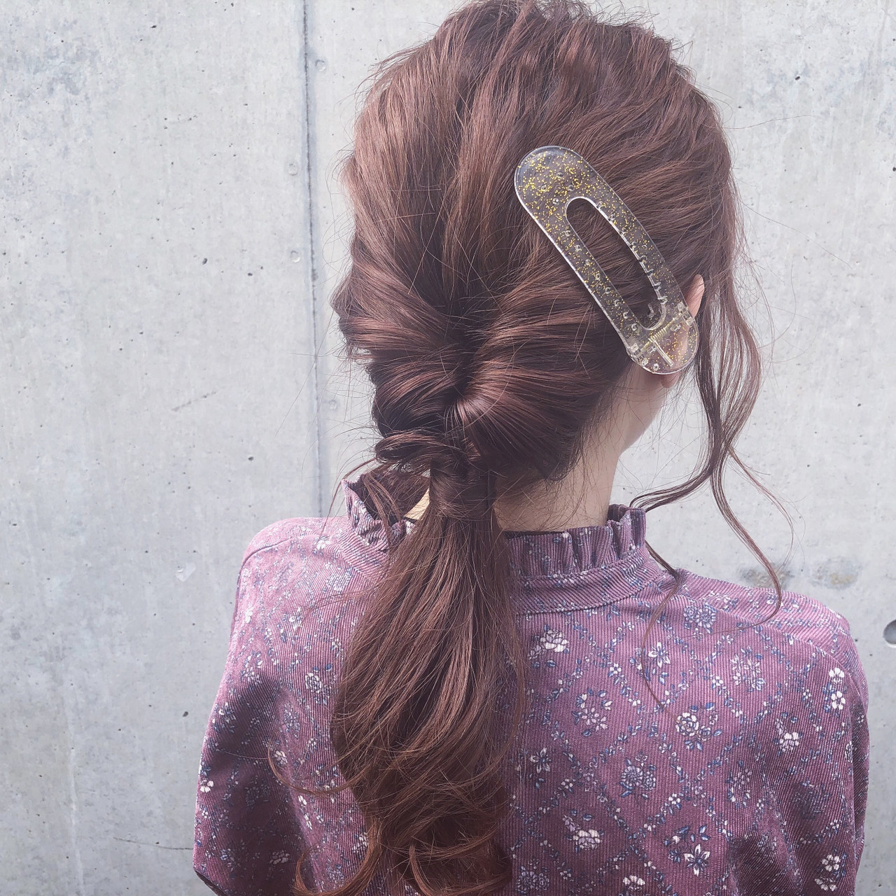 アンニュイほつれヘア ヘアアレンジ ロング 簡単ヘアアレンジ ヘアスタイルや髪型の写真・画像 | Daiki Yamashita / vicca