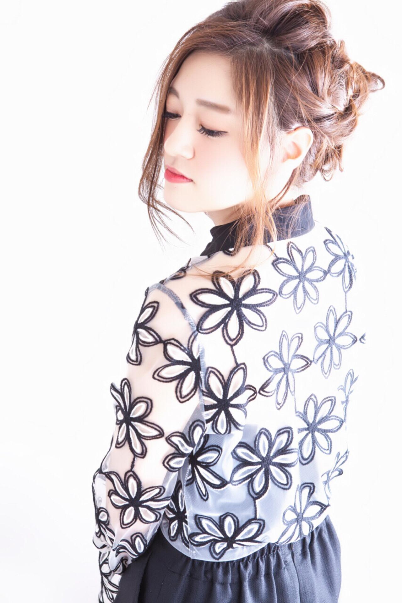 ショート ヘアアレンジ 大人女子 ロング ヘアスタイルや髪型の写真・画像 | 長井 浩気 / ilio-hair atelier-