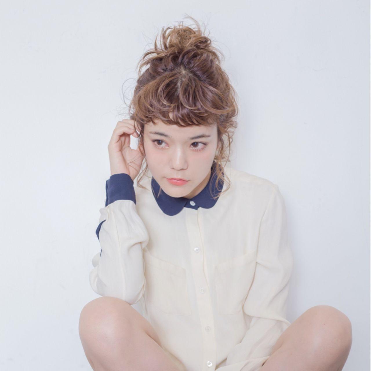 ポニーテール ヘアアレンジ 簡単ヘアアレンジ ストリート ヘアスタイルや髪型の写真・画像 | 金野 朋晃 / KATE omotesando