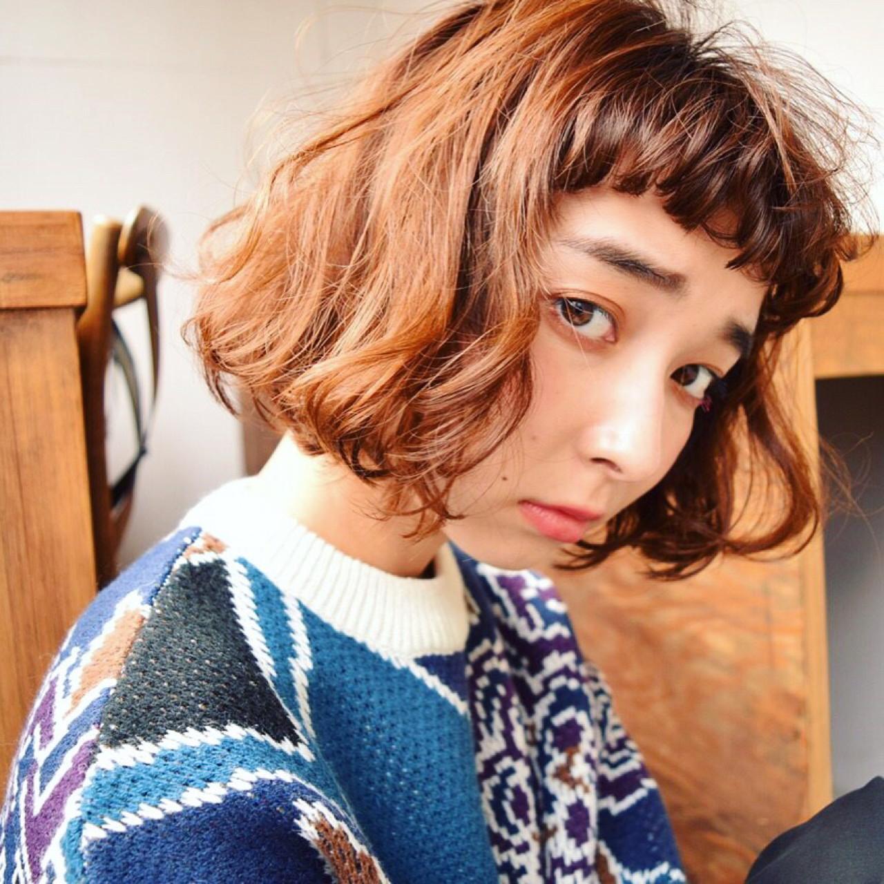 簡単 大人かわいい パーマ 暗髪 ヘアスタイルや髪型の写真・画像 | 神保 輝 / Neon.by.newton / Neon by Newton