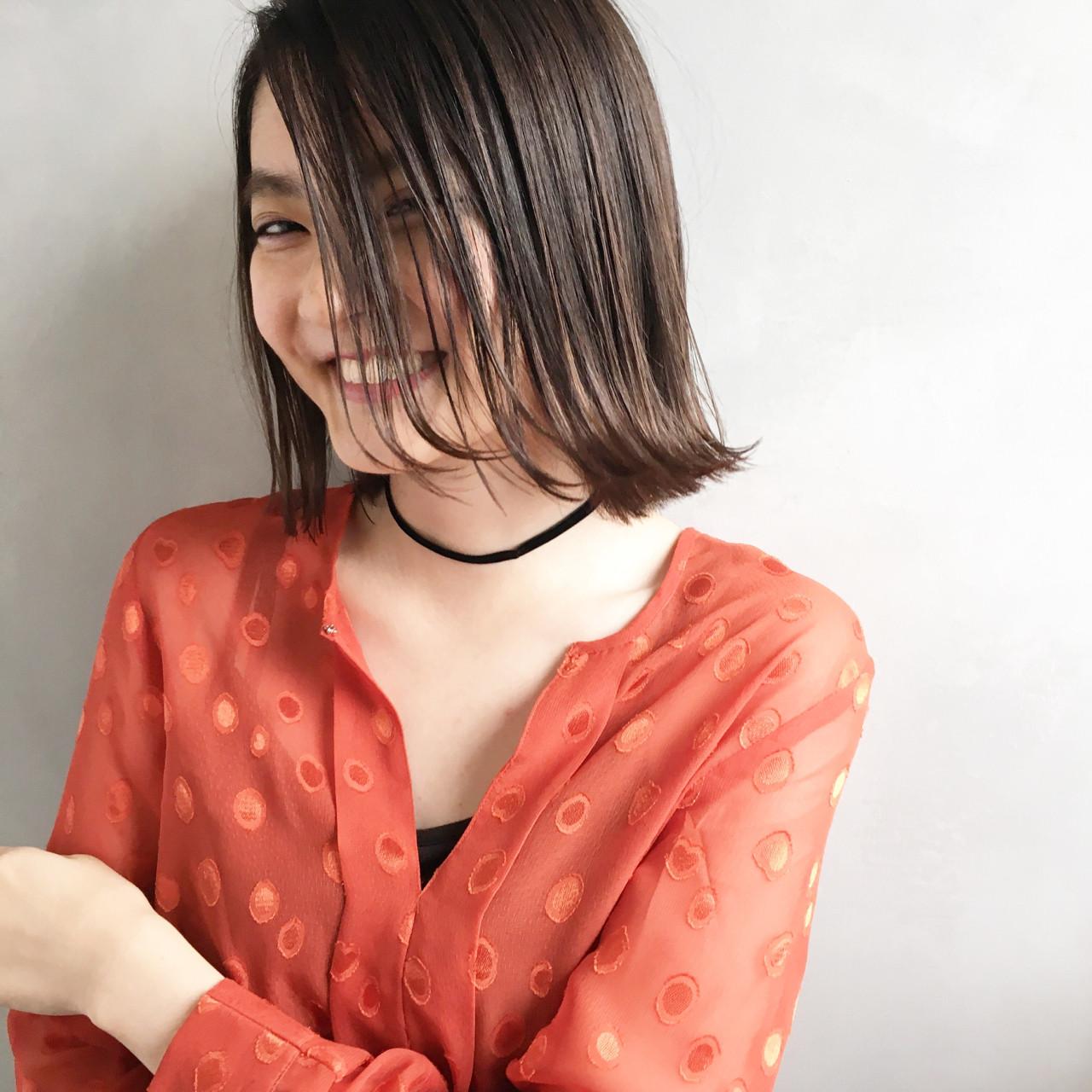 デート 女子会 透明感 ナチュラル ヘアスタイルや髪型の写真・画像   日野 達也 / GO TODAY  SHAiRE SALON