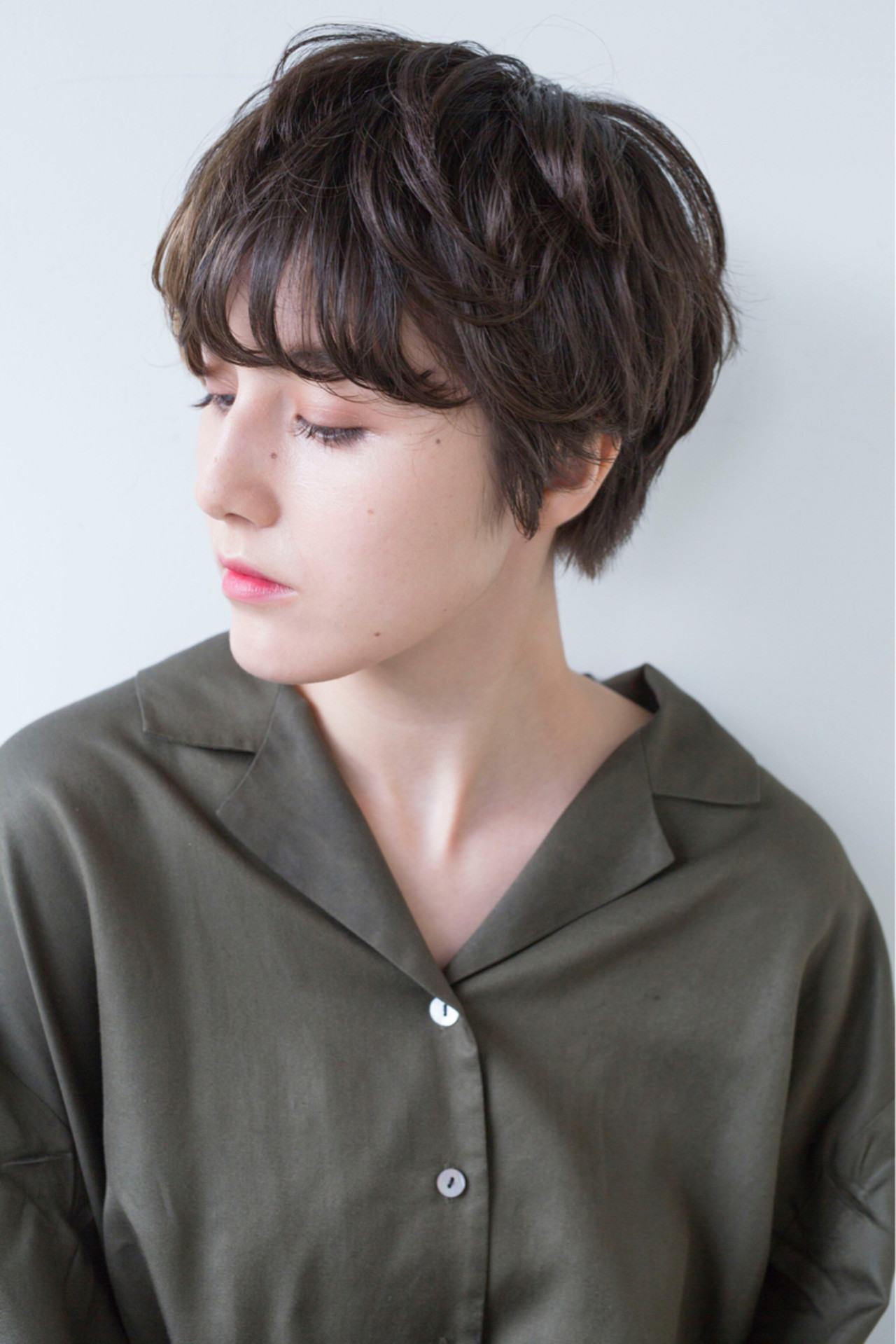 外国人風 ナチュラル ウェーブ 大人かわいい ヘアスタイルや髪型の写真・画像 | 渡辺 フミヤ / Cafune by Garland