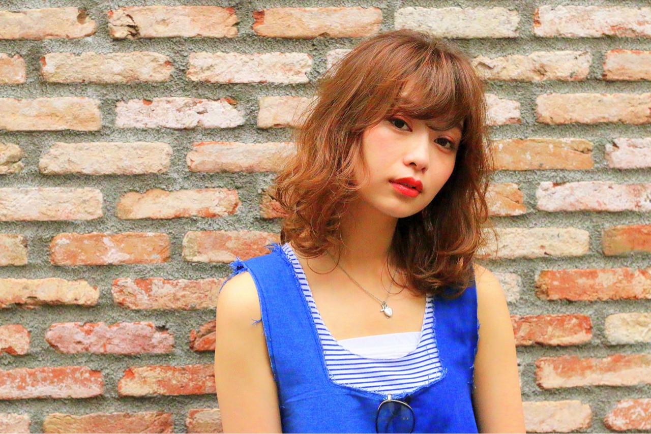 ブラウン 外国人風 ストリート ゆるふわ ヘアスタイルや髪型の写真・画像 | 西原 直樹 / Neolive &