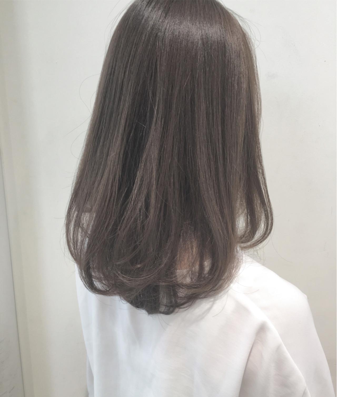 秋 ロング 透明感 大人かわいい ヘアスタイルや髪型の写真・画像   市岡 久 / BLANCOtres