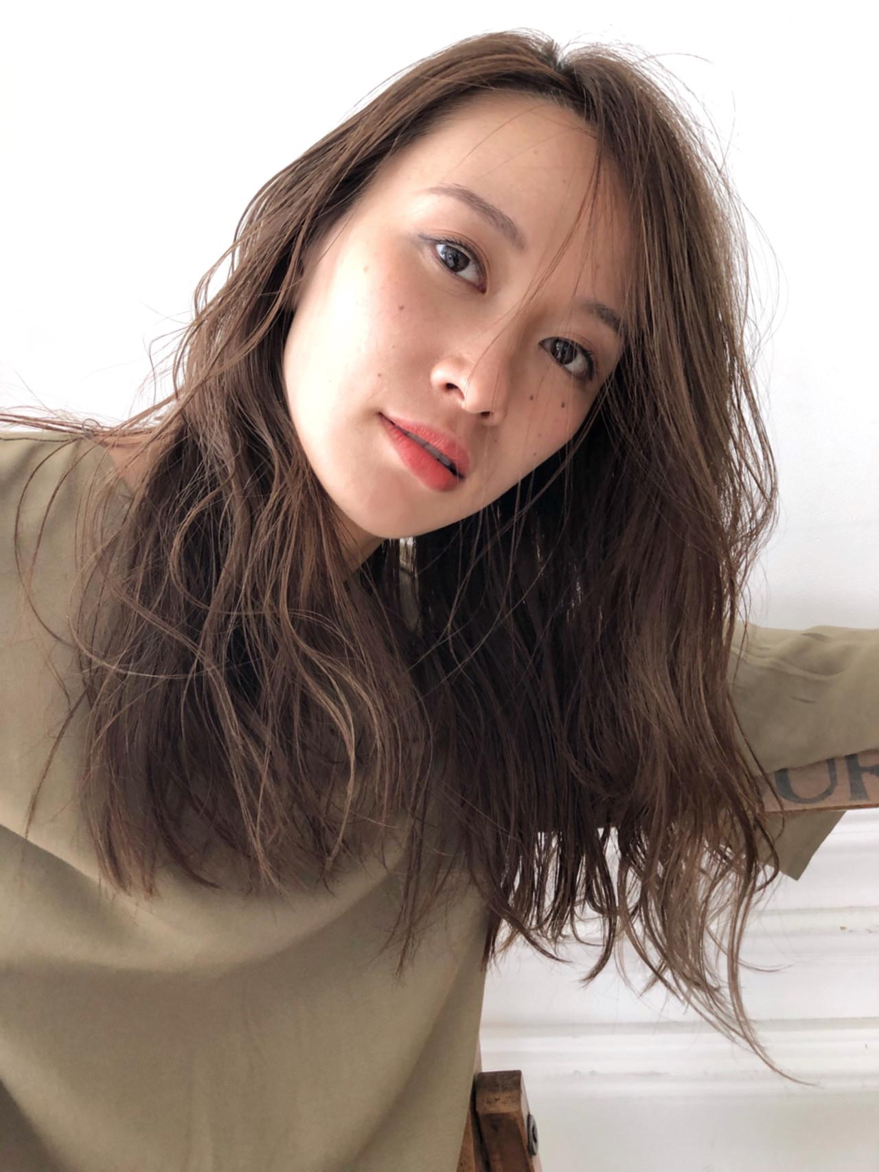 アンニュイ 外国人風 ゆるふわ ハイライト ヘアスタイルや髪型の写真・画像 | スガ シュンスケ / Tierra (ティエラ)