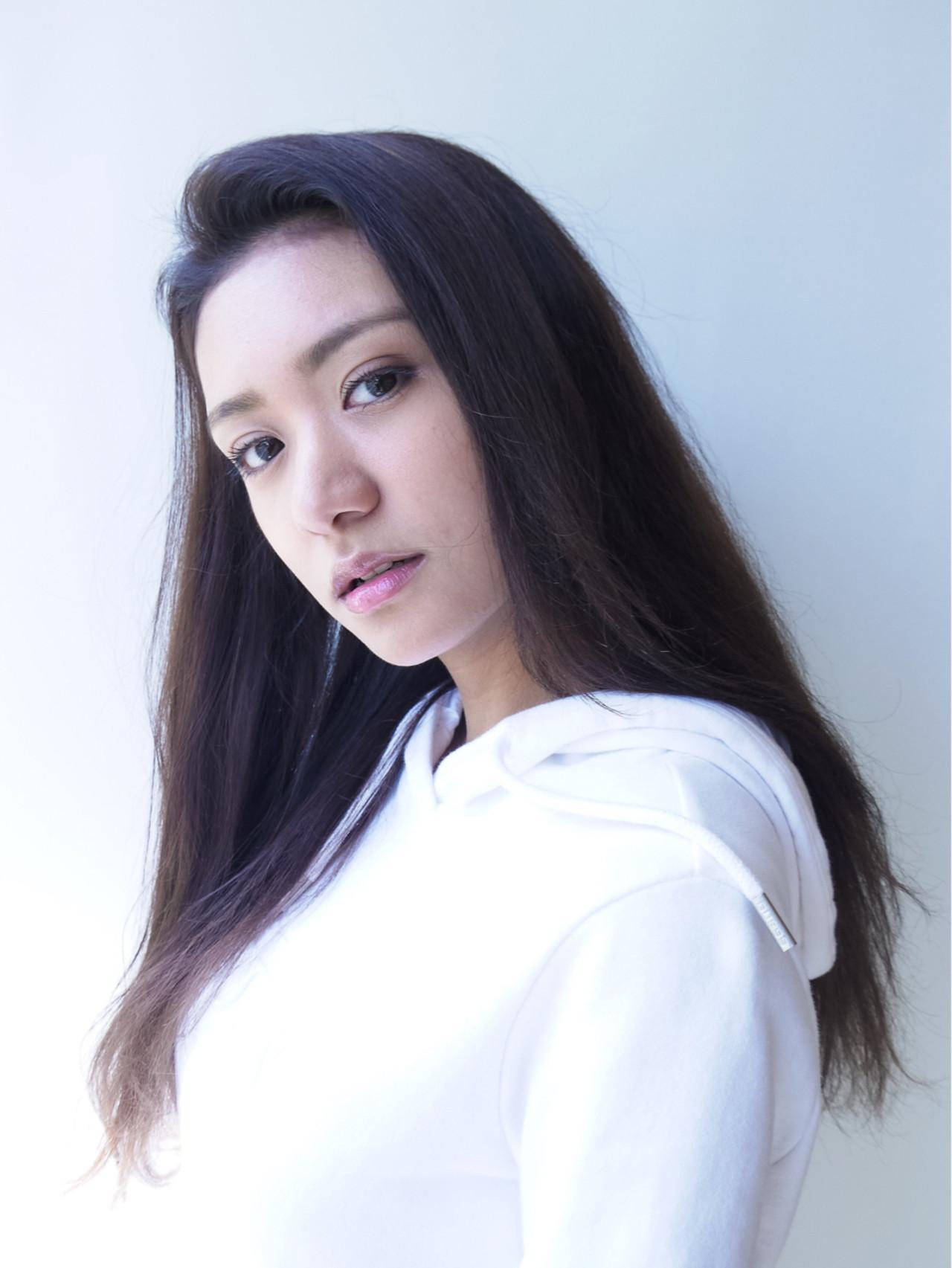ロング 秋 大人かわいい フェミニン ヘアスタイルや髪型の写真・画像 | izumi.miyazaki / morio from london原宿本店