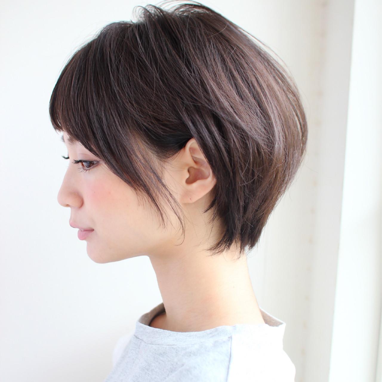 オフィス ショート ウェーブ ヘアアレンジ ヘアスタイルや髪型の写真・画像 | 宮崎えりな KAYAK by HONEY / KAYAK by HONEY