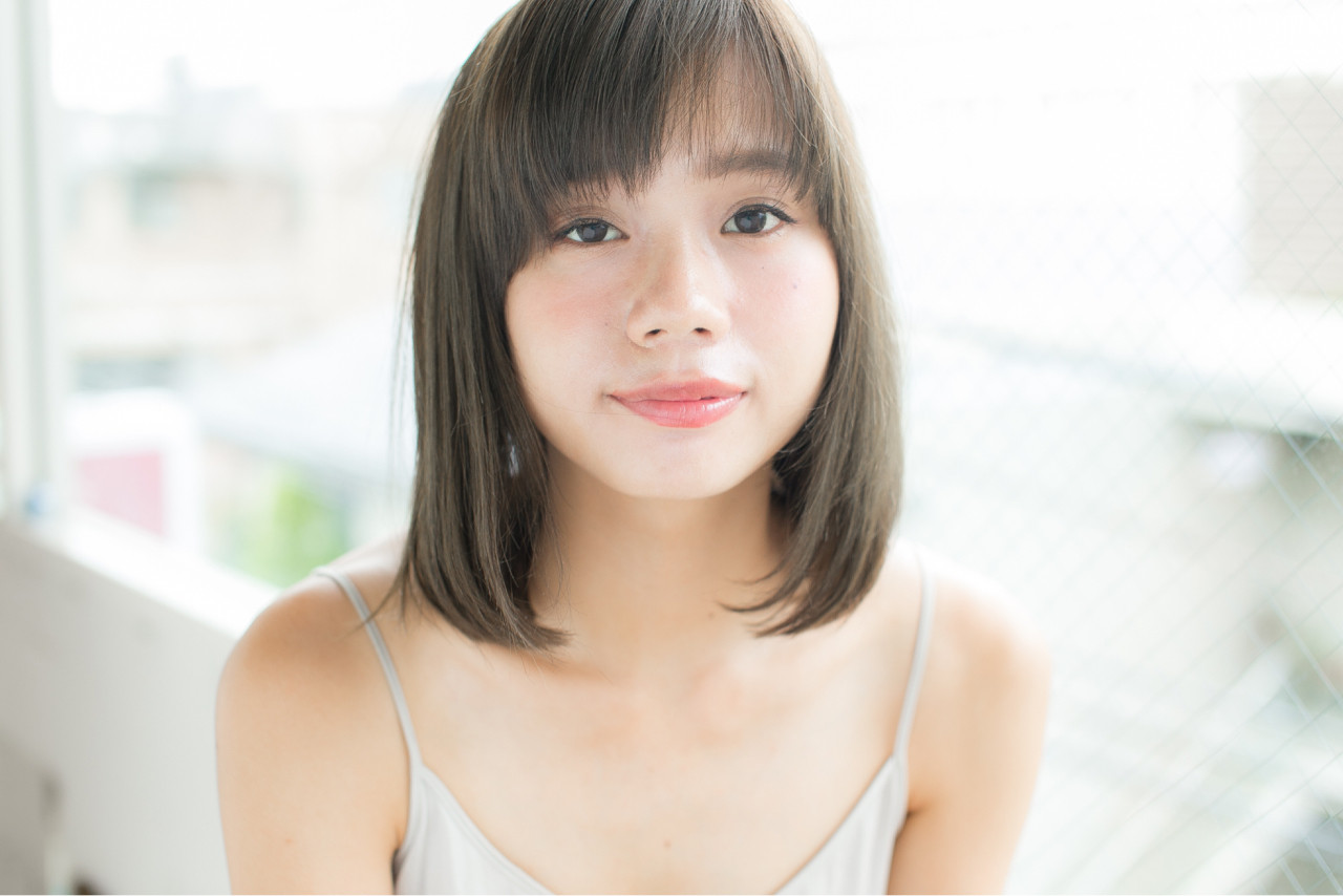 外国人風 ピュア ボブ 大人かわいい ヘアスタイルや髪型の写真・画像 | 内藤翔太 @anmani / anmani