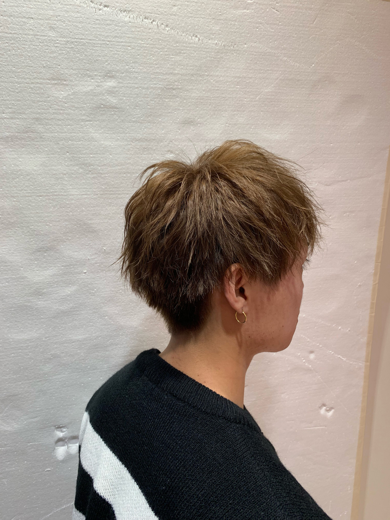 メンズショート メンズ ナチュラル ショートヘアスタイルや髪型の写真・画像