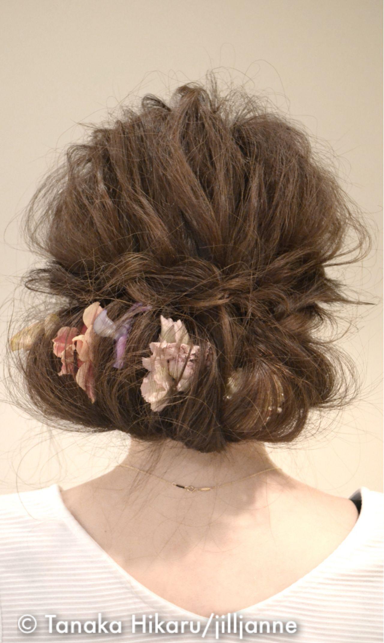 ロング アップスタイル 結婚式 ストリート ヘアスタイルや髪型の写真・画像 | Tanaka Hikaru/jilljanne / jilljanne 《ジル・ジェニー》