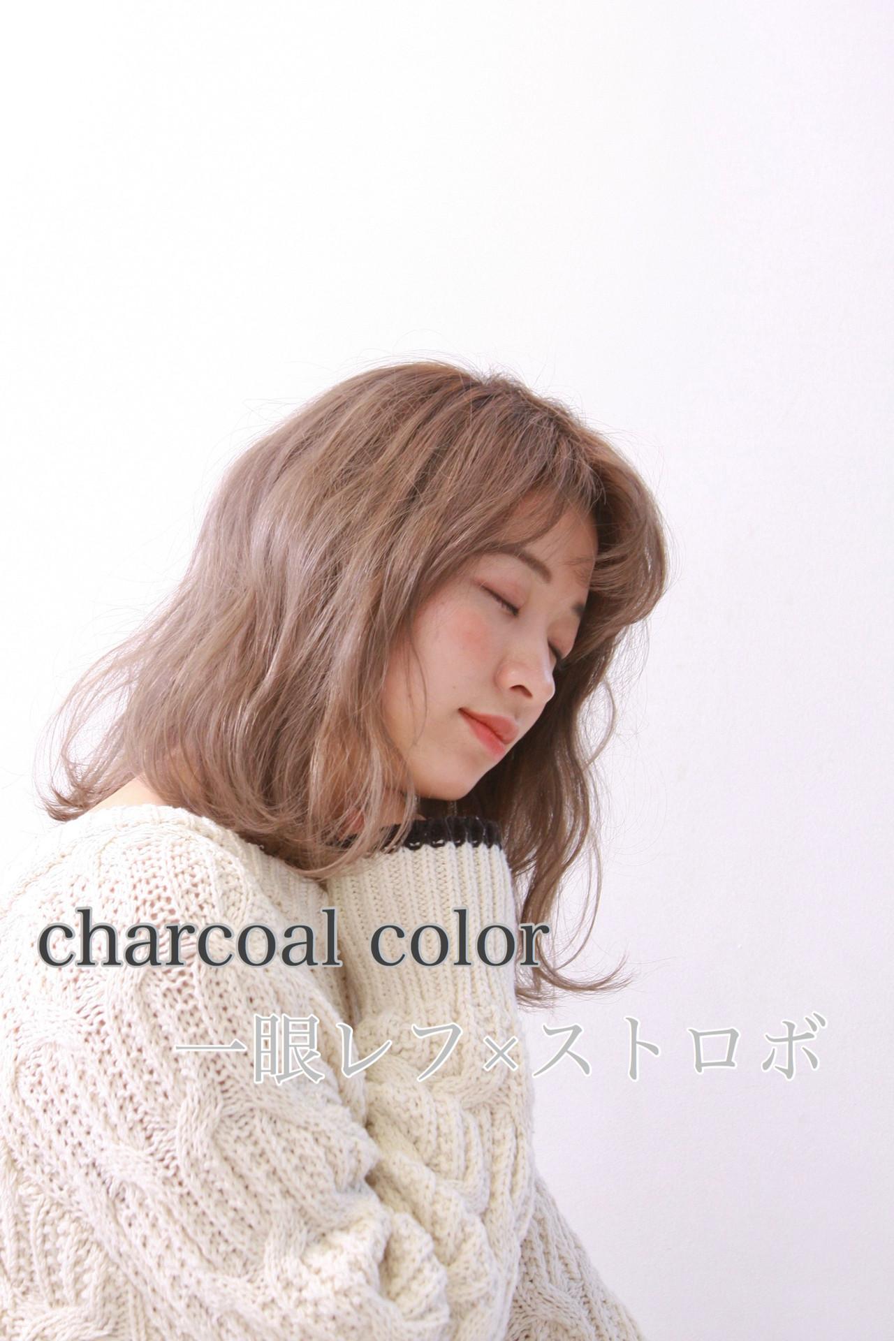 アッシュグレージュ ホワイトグレージュ ミルクティーグレージュ ナチュラル ヘアスタイルや髪型の写真・画像 | fujihara daigo / LAULEA