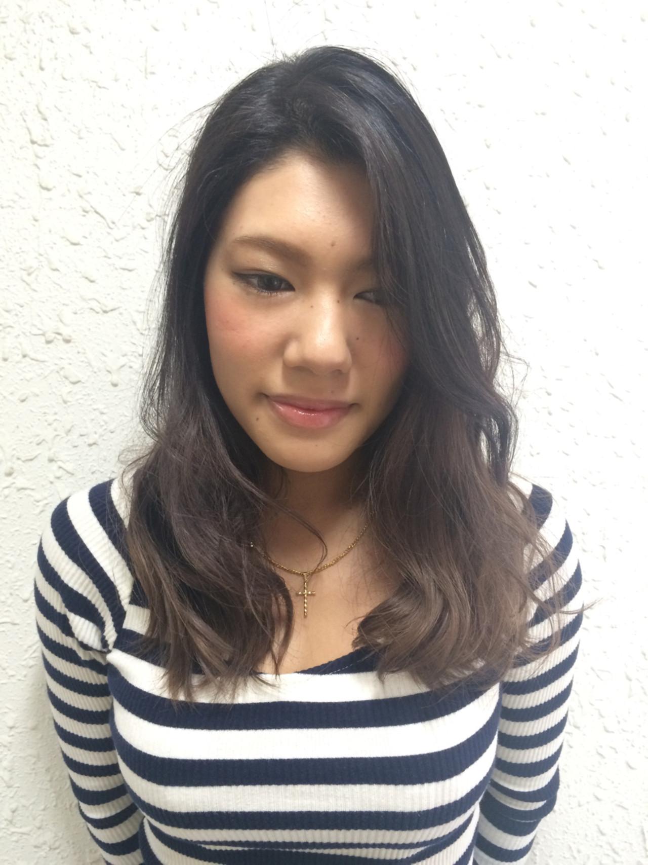 ガーリー 大人かわいい ダブルカラー 外国人風ヘアスタイルや髪型の写真・画像
