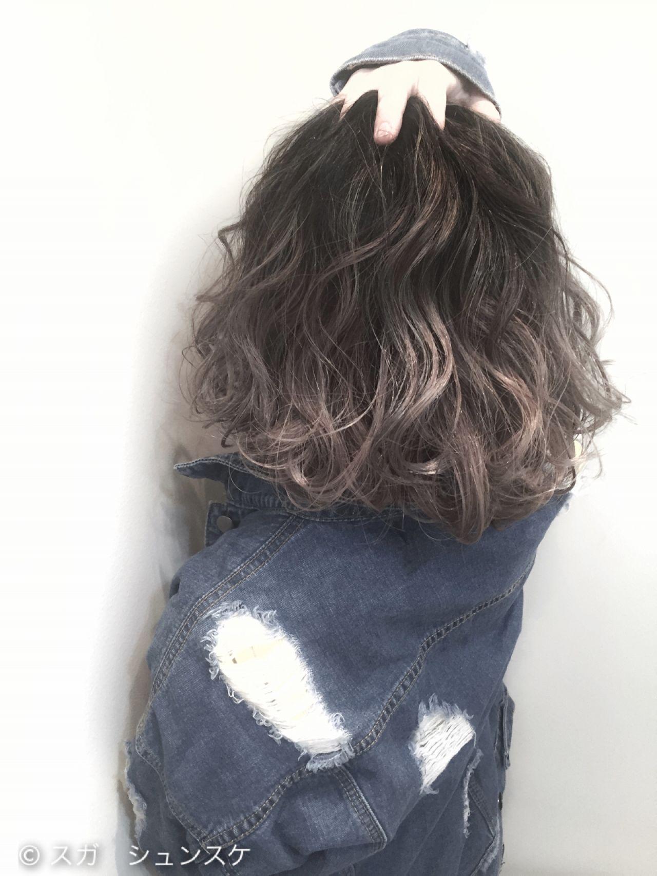 グラデーションカラー ストリート 黒髪 外国人風 ヘアスタイルや髪型の写真・画像   スガ シュンスケ / Tierra (ティエラ)
