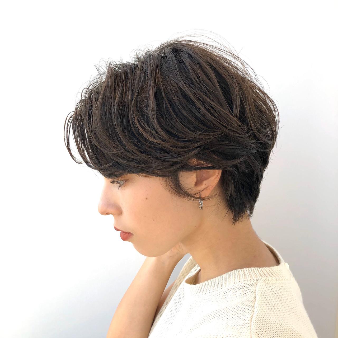デート 透明感カラー ショートボブ ショートヘア ヘアスタイルや髪型の写真・画像 | 佐藤 侑哉 / regalo【レガロ】新宿