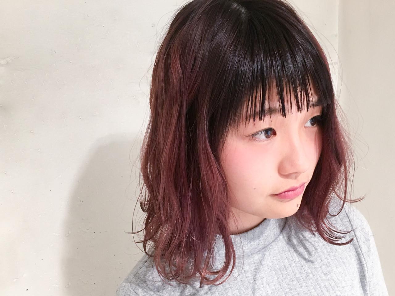 ボブ 前髪あり ミルクティー 外国人風カラー ヘアスタイルや髪型の写真・画像 | 鈴木 謙太 / HAIRLOGY