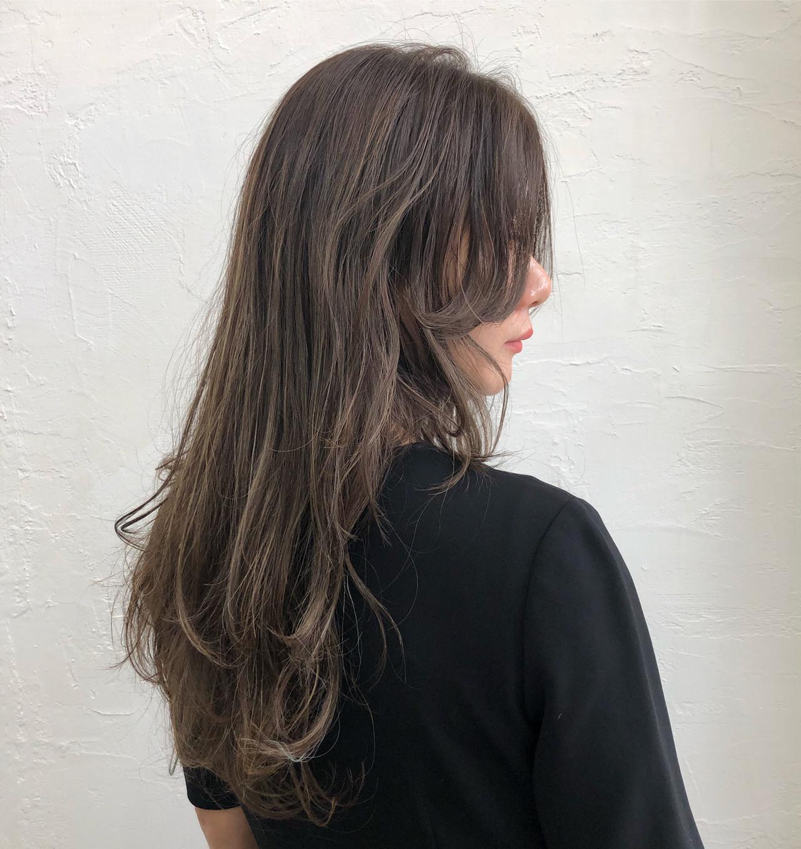 ハイライト コントラストハイライト ガーリー ロング ヘアスタイルや髪型の写真・画像 | 岩垂 和枝 / hair make design paf