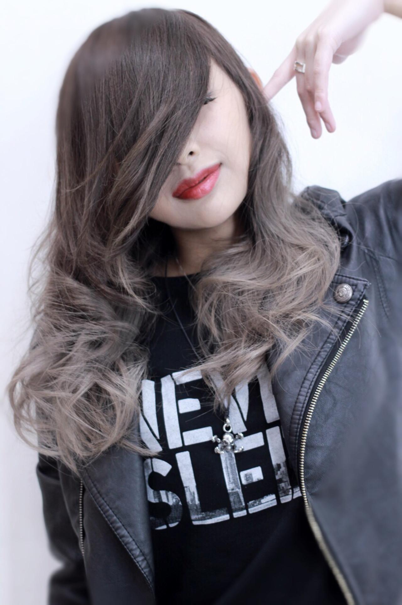 透明感 ストリート セミロング アッシュ ヘアスタイルや髪型の写真・画像 | Director AKI☆ / hairTRUTH