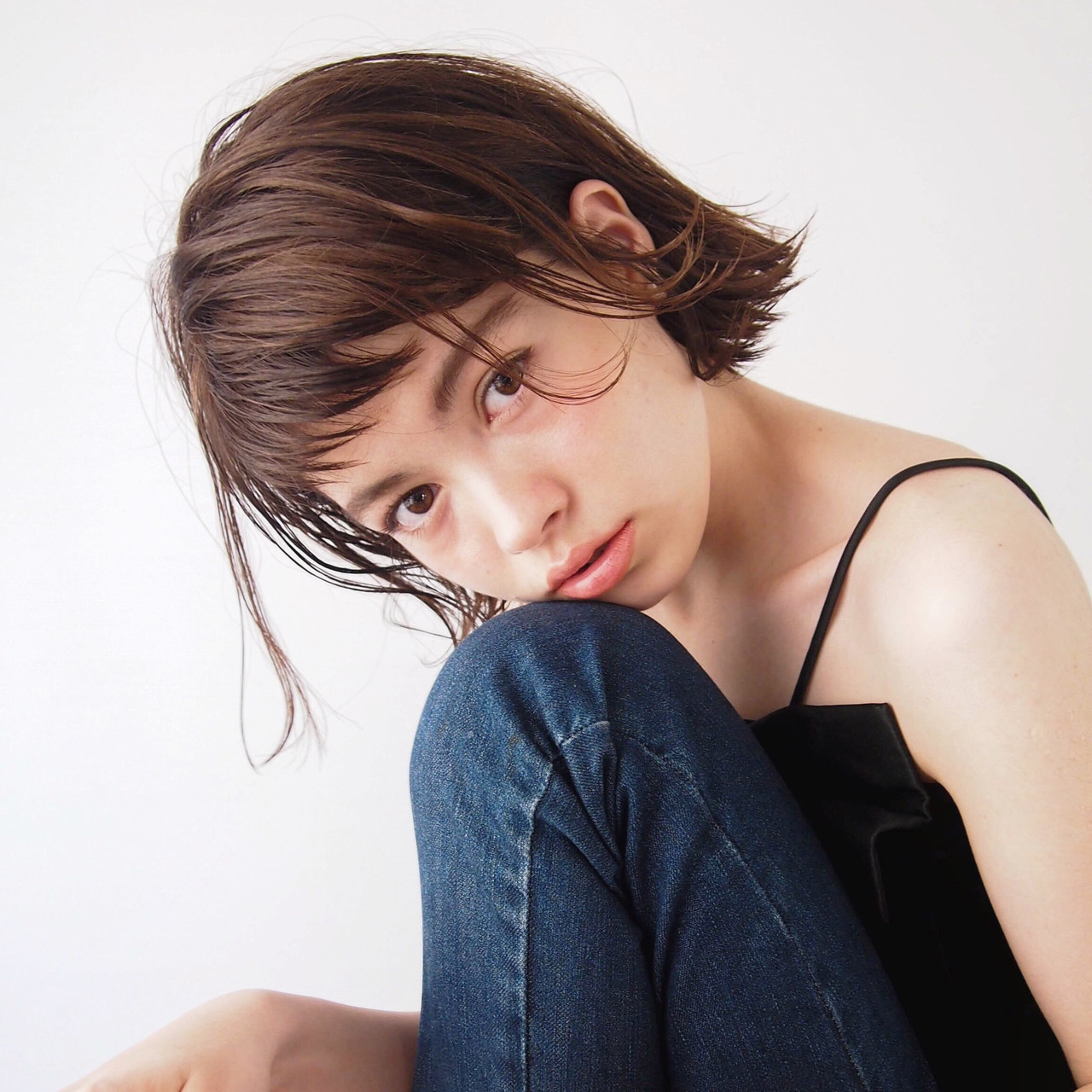 ハンサム ナチュラル かっこいい 女子会 ヘアスタイルや髪型の写真・画像 | 一色 さおり / LOAVE AOYAMA(ローブ アオヤマ)
