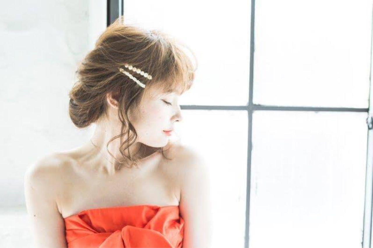 つけるだけでかわいい♡バレッタって超便利♡ 石川 琴允